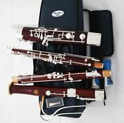 Concert Heckel System Maple Wooden Bassoon Silver Plated C Key For Professional