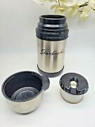 Vintage Starbucks Stainless Steel 32oz Insulated Big Mouth Travel Thermos
