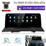 8-core Android 10 Car Gps Navigation Multimedia Wireless Carplay For Bmw X3 E83