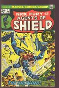 Nick Fury And His Agents Of Shield 1 Marvel 1973 Vf/nm Steranko