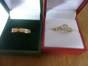 Wedding And Engagement Ring Set , Never Used , Original Cost Over £3000