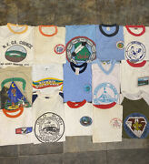 Lot Of Vintage 70s/80s Rare Boy Scout Tshirts 15 Tees