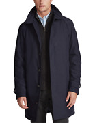 Polo Menand039s Navy Blue Packable Walking Coat New Nwt 228
