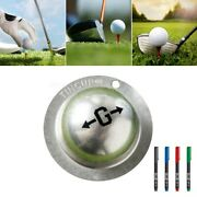 Multifuctional Golf Sport Ball Line Liner Marking Template Alignment Tool Marker