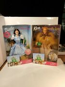 Barbie Doll Lot Of 2- The Wizard Of Oz Dolls From 1999 Brand New In Box