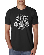 Cafe Racer T Shirt Triumph Tee Vintage Motorcycle Tshirt