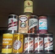 10 Diff. Beer Cans From Leinenkugel Brewing - Bosch Chippewa Pride And More