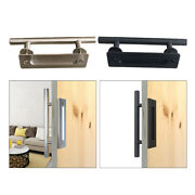 2pcs 12 Sliding Barn Door Cabinet Shed Gate Iron Pull Cylindrical Handle