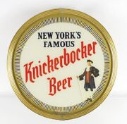 Extremely Rare 1950s Knickerbocker Beer Lighted Motion Sign - Jacob Ruppert N.y.