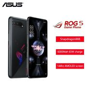 Asus Rog Phone 5 Unlocked Android 11 Snapdragon 888 Gaming Cell Phone 16gb+256gb