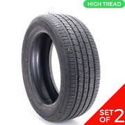 Set Of 2 Used 255/50r20 Continental Crosscontact Lx Sport 105t - 9/32