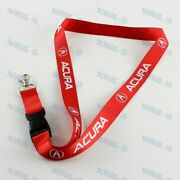 Lanyard Quick Release Key Chain For Acura Integra Rsx Tsx Tl Jdm Red Keychain