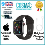 Apple Watch Series 4 Gps And Cellular 44mm Space Black Stainless Steel Case Box