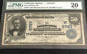 1902-50db-the Coldwater Nb, Ks-pmg20-s/n 91. First Time Ever Offered On Ebay.