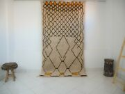 Azilal Rug Rare Authentic Beni Ourain High Quality 100 Wool