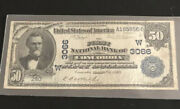 1902-50 Db-the Fnb Of Concordiaks. A Super Rare Note-in Vf Condition W/m Tear.