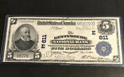 1902-5-the Gettysburg Nb Pa-in Ef Condition-a Rare And Nice Note For Collectors.