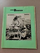 Bowser 1979 Dealer Catalog And Reference Manual Trains And Parts 62 Pgsexcel Cond