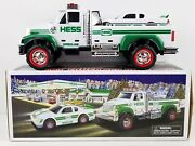 Hess Toy Truck And Race Car 2011 New