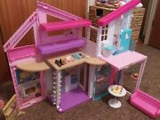 Barbie Estate Malibu House Playset With Accessories 2 Storie