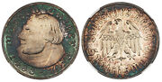 Germany 3rd Reich. 1933-a Ar 5 Reichsmark. Ngc Pr65 Cameo. Martin Luther.
