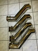 Stainless Marine Custom Gen Iii 4-1/2 Stainless Tailpipe 19.5 Long 13 Drop