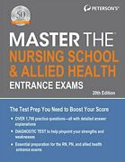Master Nursing School And Allied Health Entrance Exams By Petersonand039s Brand New