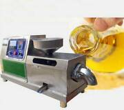 New Commercial Electric Oil Press Machine Automatic Screw Peanut Oil Expeller