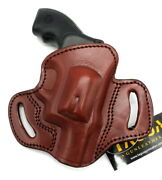 Tagua Bh3 Right Hand Open Top Brown Leather Belt Holster Sandw J-frame 22 38 2