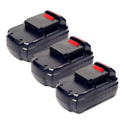 3x Factory Essentials Replacement For Porter Cable Pc18b 18v 3.0ah Battery