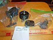 Zebco Vintage Spinner Fishing Reel For Parts-very Clean Partsandfree Shipping
