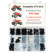 Aftermarket Fit For Honda Crf150/r Crf250/r Crf450/r Fenders Seat Fork Bolts Kit
