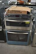 Ge Profile Pk7800skss 27 Stainless Microwave-oven Combo Wall Oven Nob 107272
