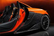 Darwinpro Mclaren 600lt Forged Carbon Quarter Panel Side Scoops Replacements
