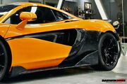 Darwinpro Mclaren 600lt Oe Style Forged Carbon Side Quarter Panel Covers