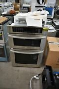 Lg Lwc3063st 30 Stainless Steel Microwave-oven Combo Wall Oven 107273