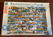 New Nisb Ravensburger - 99 Beautiful Places Of Europe - Jigsaw Puzzle 3000 Piece