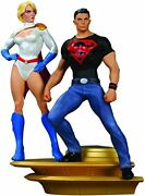 Dc Direct Superman Family Multi-part Statue Part 1 Superboy And Power Girl 436/850
