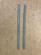 1935 And 1936 Ford Cabriolet Window Garnish Moldings Steel