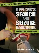 Officerand039s Search And Seizure Handbook By John A. Stephen Excellent Condition