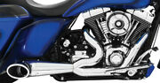 Freedom Performance Exhaust 2-into-1 Turnouts Hd00509 Chrome/black