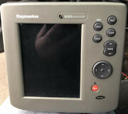 Raymarine Raychart Rc 435 Gps Chartplotter Color Display Cover Cable Memory Card