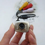 20 Pcs Mini Wired Cctv Security Camera Color Night Ir Vision Infrared Cam Lens
