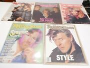 Lot Of 5 Rolling Stone Magazines - March 1984 The Police Tina Turnerspielberg