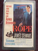 And039ropeand039 - James Stewart Alfred Hitchcock 1948 Original Us 1-sheet/poster