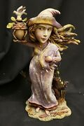 Morgue Sale Department 56 Detailed Luna Witch Figurine Retired 2008 Mint