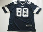 Nwt Michael Irvin 88 Dallas Cowboys Game Throwback Player Jersey Blue