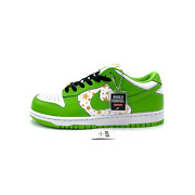 Nike Sb Dunk Low Supreme Stars Mean Green Dh3228-101 Menand039s Size 10-12