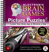 Electronic Brain Games Picture Puzzles 2 By Editors Of Publications Ltd. Vg+