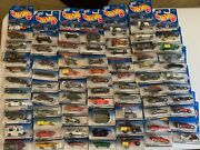 71 Hotwheels Mixed Lot Treasure Hunt, 1999 First Edtitions, And Many More...
